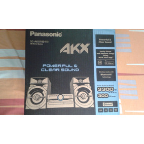 Equipo De Sonido Panasonic Mini Componente 300w Bluetooh Usb