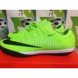 Tenis Nike Mercurial X Finale Tf 100% Originales Cr7 Verde