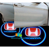 Projector De Luces Con Logo Honda Para Autos 2 Pcs