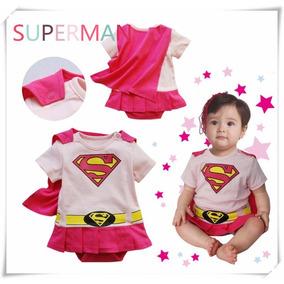 Macacão Fantasia Do Bebê Super Homem, Batman,maravilha