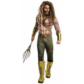 Disfraz Aquaman Traje Batman V Superman Liga De La Justicia
