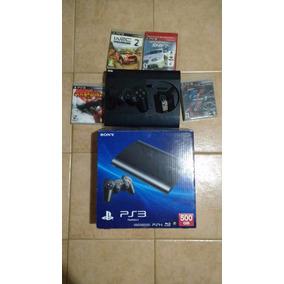Playstation3 (500 Gb) + 7 Juegos (4 Físicos) + 1 Joystick