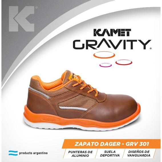 Calzado De Seguridad Kamet Gravity Zapatilla Dager P. Alum.