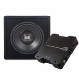 Remate Cajón Con Woofer Y Amplificador Dual Sbp270 $1749