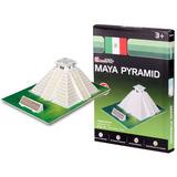 Quebra-cabeça Importado (7964) Puzzle 3d 19cs Pirâmide Maia