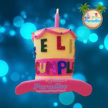Sombreros Hule Espuma Paquete 20 Piezas Fiesta Eventos
