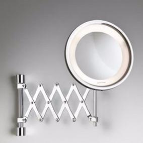 Espelho De Parede C/ Luz Flex Lux- Pantográfico-ampliação 5x