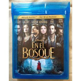 En El Bosque In To The Woods De Disney Blu Ray + Dvd Nuevo