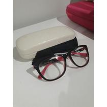 Óculos Armação De Grau Chilli Beans Preto Com Rosa