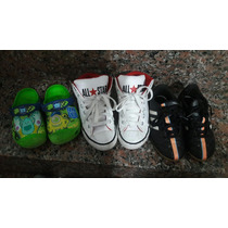 Lote Nike Crocs All Star Adidas Infantil Semi Novos