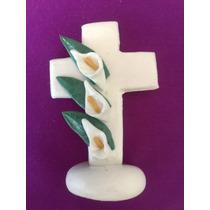 Cruces Recuerdos Bautizo Boda Xv Pasta Fria