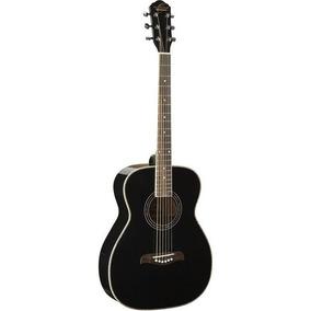 Oscar Schmidt Guitarra Acustica Color Negro Modelo Of2