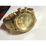 Reloj Nixon Chrono 42-20 All Gold/ Dorado