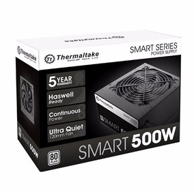 Fonte Thermaltake Smart 500w Reais 80 Plus - Nota Fical