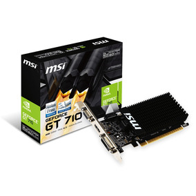 Placa De Video Pci-e Nvidia Gt 710 2gb Ddr3 Frete Gratis