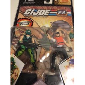 G.i. Joe 25th Anniversary Comic Pack Shipwreck Vs Copperhead