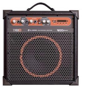 Caixa De Som Amplificada Multiuso Trx8 45w Rms