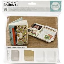 Scrapbook The Cinch Kit Journal Diario 80 Hojas Papel Rayado