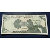 Billete De 20 Bolivares 1995 Sin Circular