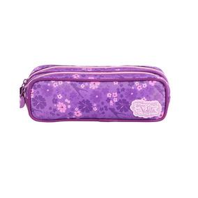 Estojo Escolar Violetta Disney Original 60486 2 Divisórias