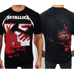Camiseta Metallica Kill Em All Camisa Consulado Do Rock