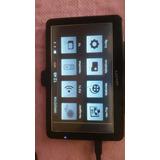 Gps Tablet Navcity Nc 750 7.5pol Touch Ruim Leia