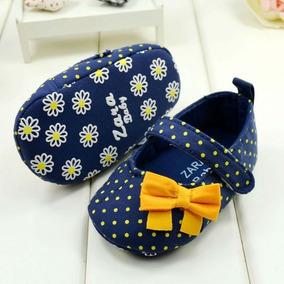 Sapatinho De Bebê Zara Importado Menina