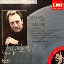 Cd Carlo Maria Giulini Rossini Overtures Made In Eu