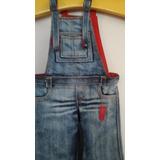 Macacão Jeans Para Boneca Bjd