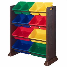 Juguetero Furniture Organizador/12 Cajas Facturamos Envio