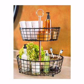 Canasta Para Decoración Accesorios De Baño O Cocina Frutas