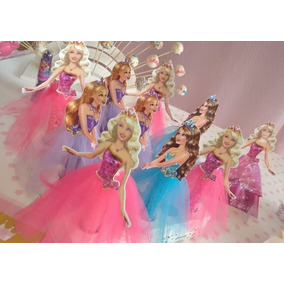 50 Bustos Barbie Para Tubete 7,5cm