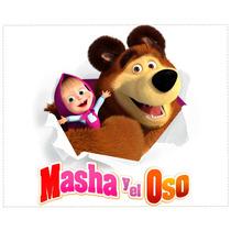 Manteles Individuales Personalizados Masha Y El Oso Souvenir