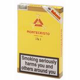 Montecristo 4 Habanos N4 Para Fumar Cigarros Cubanos Caja X5
