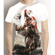 Camisa Game Camiseta God Of War 3 Kratos - Estampa Total