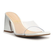 Sandália Feminina Mule Estrela Vinil - My Shoes