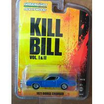 Kill Bill 1971 Dodge Charger Azul, Edicion Limitada