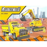 Lego City Alterno Construction Excavadora Cargador Frontal