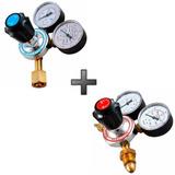 Kit Reguladores Para Cilindro De Acetileno E Oxigênio Omega