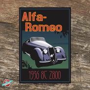 Cartel De Chapa Retro Vintage - Old Cars - Oferta!!!