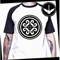 Camiseta Raglan Ou Baby Look Banda Rosa De Saron Gospel Rock