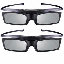 Kit 2 Óculos 3d Samsung Ativo Ssg-5100gb Original Novo Nota