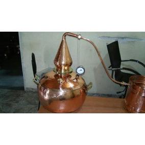Alambique Cobre 30 Litros Fabricação Whisky E Rum Artecobre