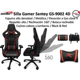 Silla Gamer Sentey Gs-9002 Pro Detalles De Lujo Pc Ps4