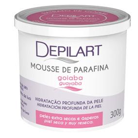 Mousse De Parafina Depilart Goiaba 300g Hidratação Pes