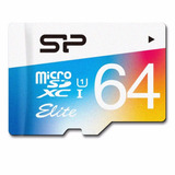 Silicon Power Elite 64 Gb Micro Sd U1 Original Envio Gratis