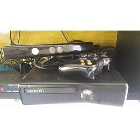 Xbox 360 Slim Desbloqueado Com Kinect + Volante Multilaser