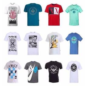Kit 10 Camisetas Varias Marcas Atacado Revenda E Lucre!!!!!!