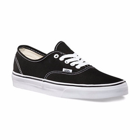 Vans Tenis Casual Authentic Unisex Vn000ee3blk Negro Clasic