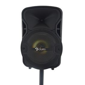 Bafles Amplificados 8 Pulgadas Bluetooth Mas Tripie Stylos
